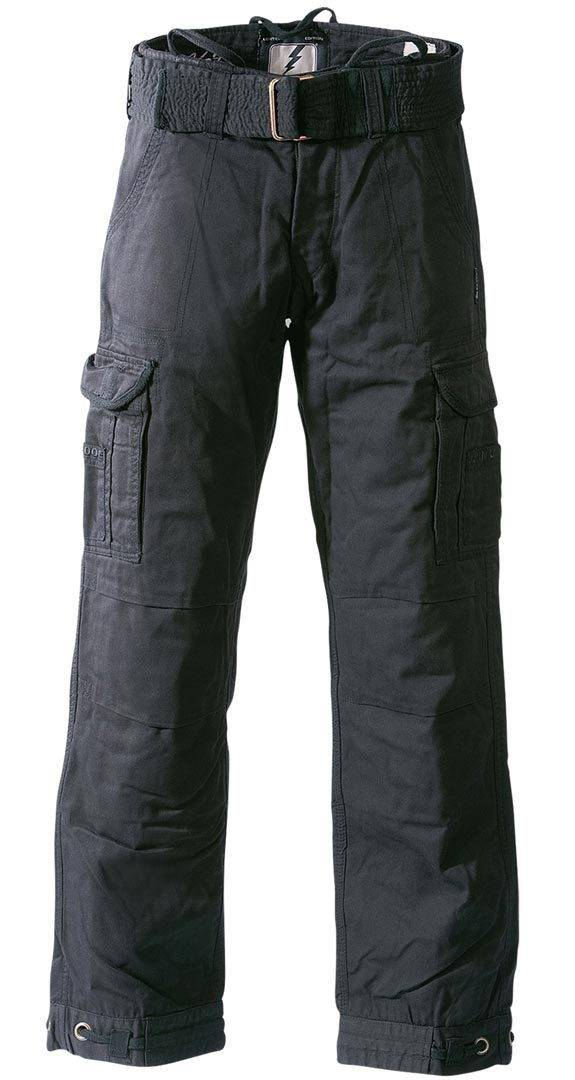 John Doe Cargo Regular Pants Black Black 36