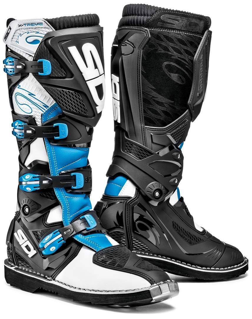 Sidi X-Treme Offroad Boots Blue 42