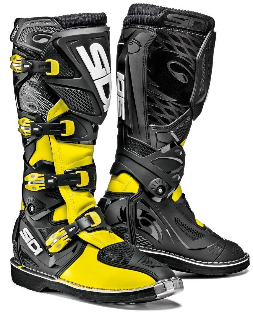 Sidi X-Treme Offroad Boots Yellow 47