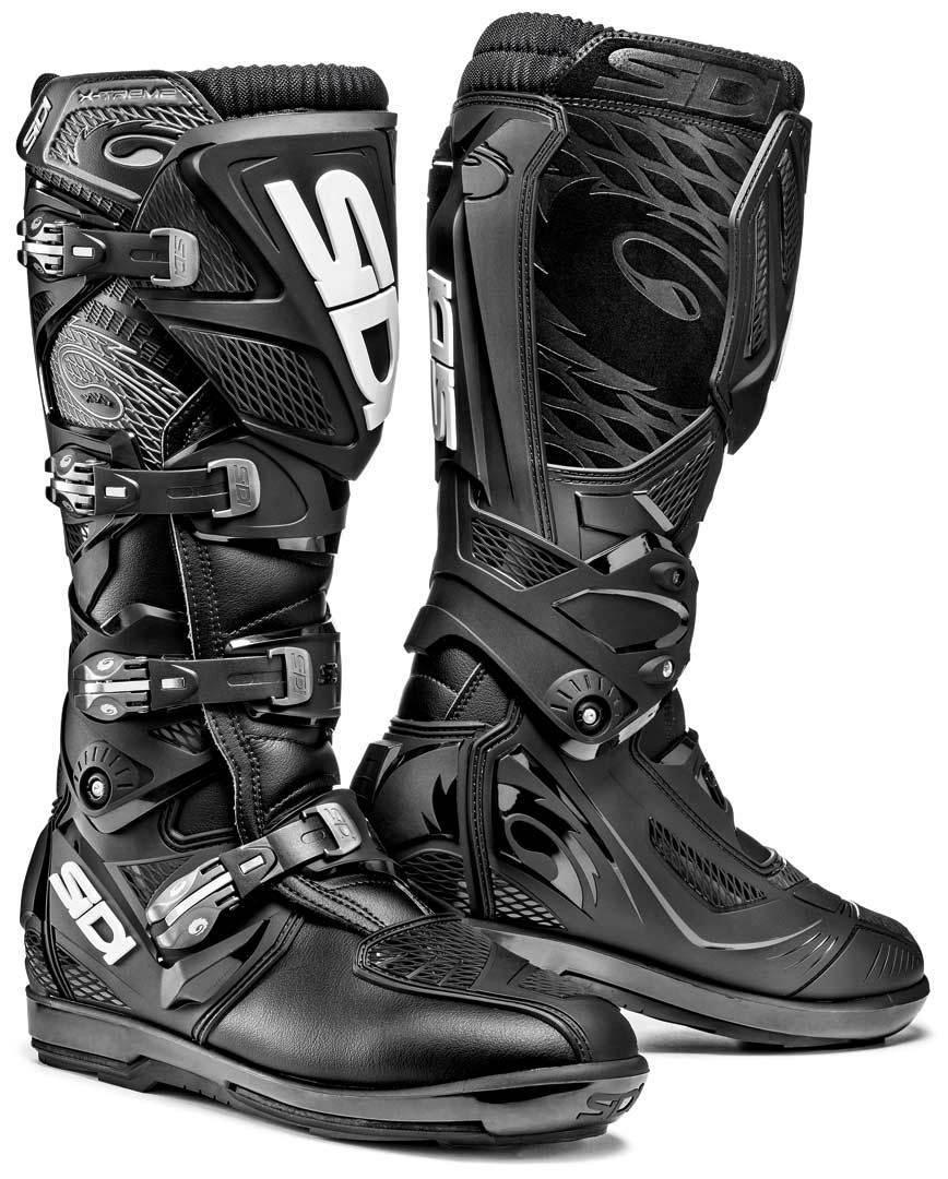 Sidi X-Treme SRS Offroad Boots Black 47