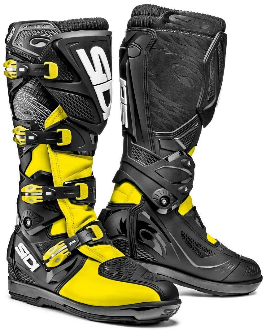 Sidi X-Treme SRS Offroad Boots Yellow 40