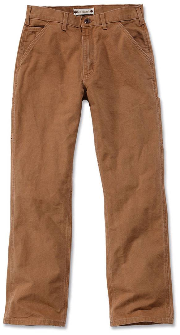 Carhartt Washed Duck Work Dungaree Pants Brown 33