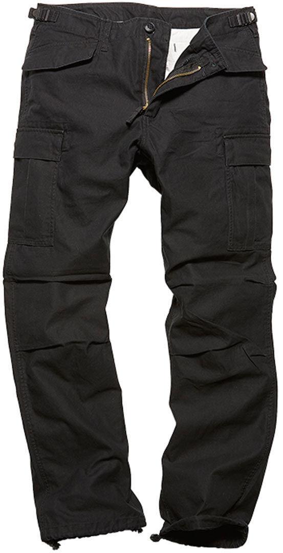 Vintage Industries M65 Heavy Satin Pants Black M