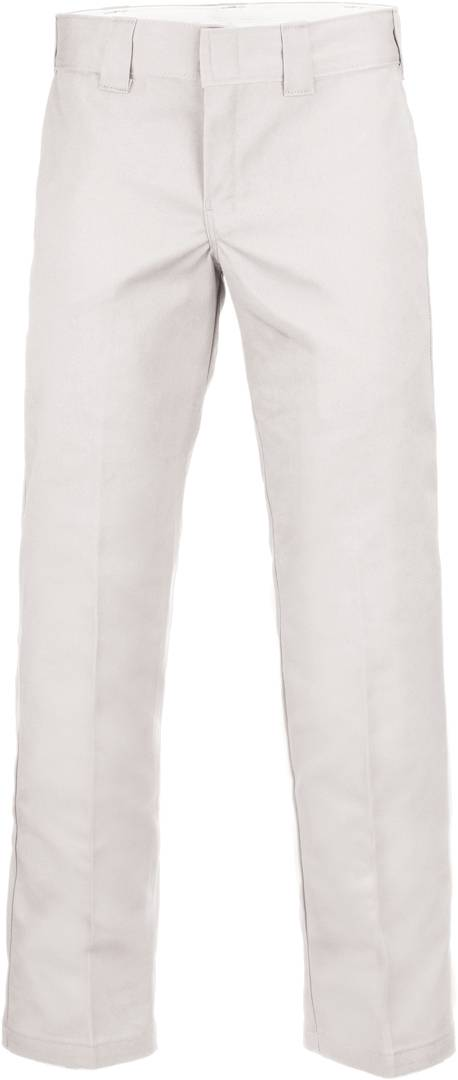 Dickies Slim Straight Work Pants White 34