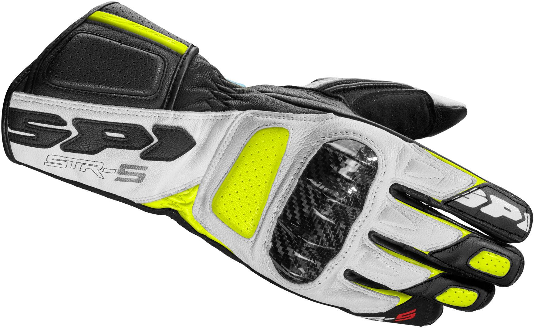 Spidi STR-5 Gloves Black Yellow XL