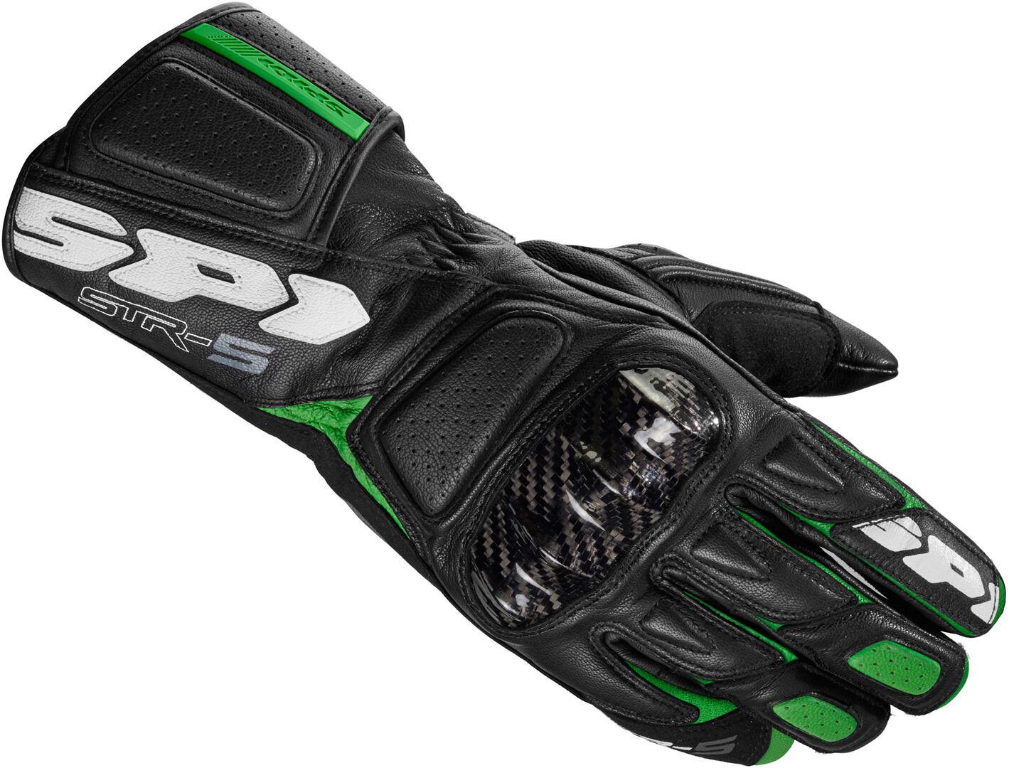 Spidi STR-5 Gloves Black Green 3XL