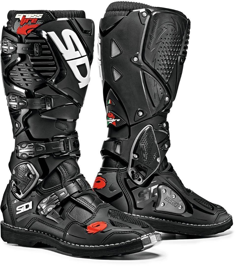 Sidi Crossfire 3 Motocross Boots Black 47