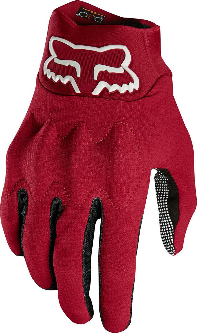 FOX Bomber Light MX Gloves Black Red 2XL