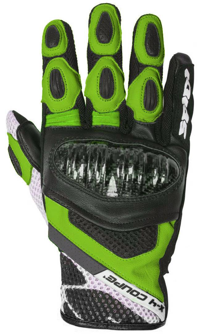 Spidi X-4 Coupé Gloves Black Green XL