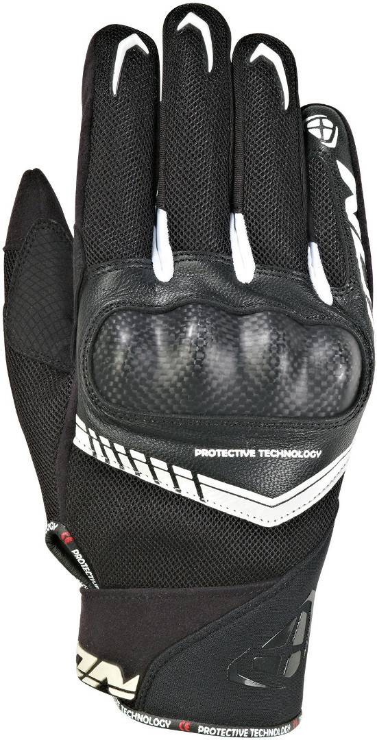 Ixon Rs Loop 2 Gloves Black White 2XL