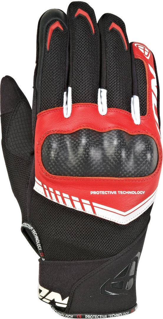 Ixon Rs Loop 2 Gloves Black White Red XL