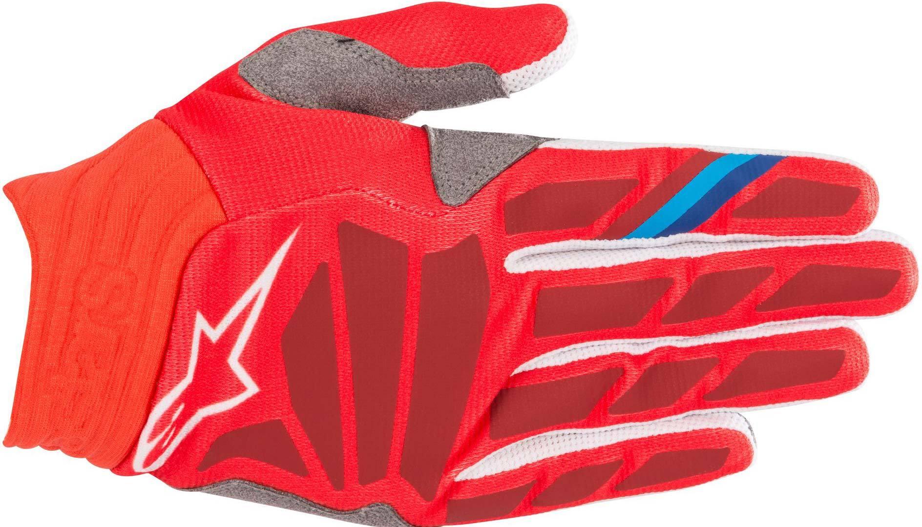 Alpinestars Aviator Motocross Gloves Red L