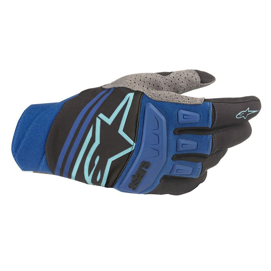 Alpinestars Techstar Motocross Gloves Black Blue XL
