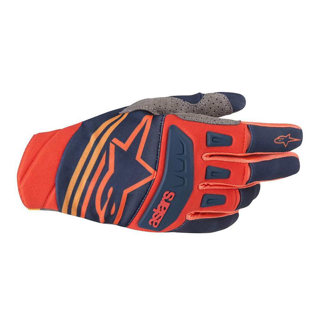Alpinestars Techstar Motocross Gloves Red Blue L