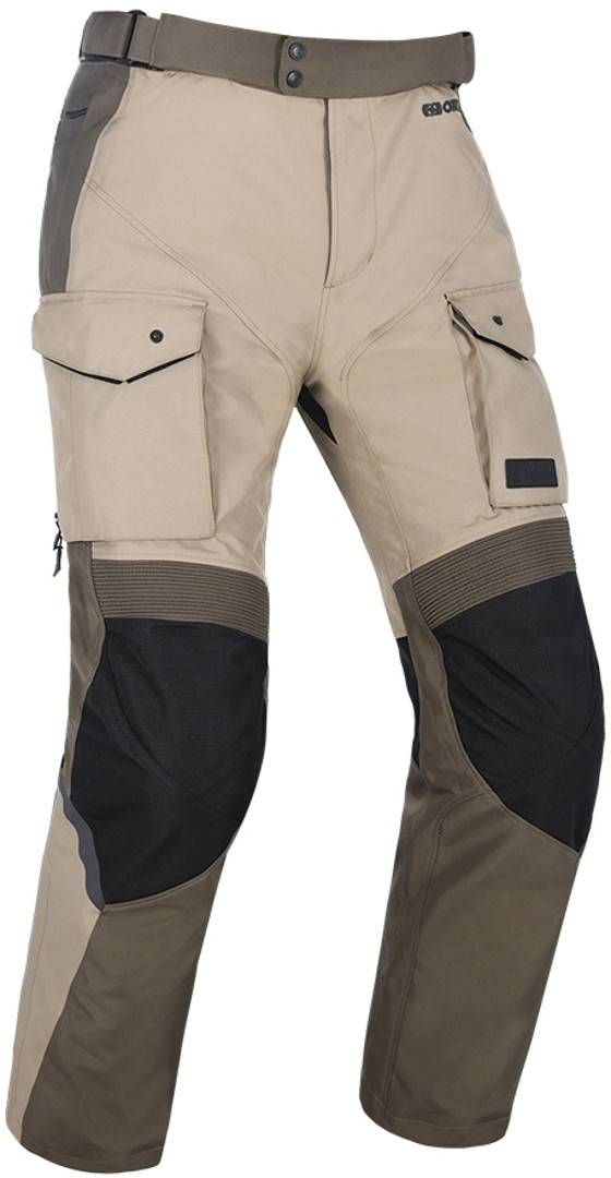 Oxford Continental Motorcycle Textile Pants Beige XL