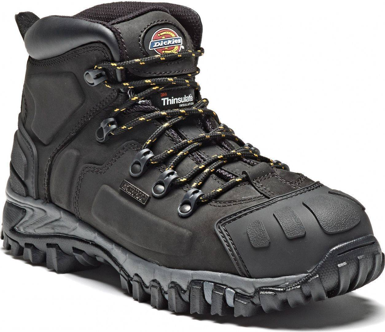 Dickies Workwear Medway Safety Boots Black 43