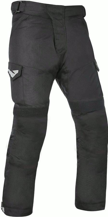 Oxford Quebec 1.0 Motorcycle Textile Pants Black 3XL