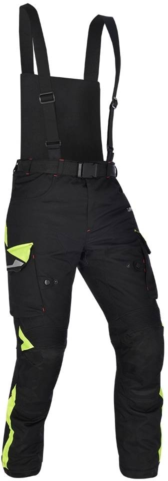 Oxford Montreal 3.0 Motorcycle Textile Pants Black Yellow S