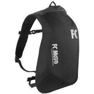 FC-Moto Hump Motorcycle Backpack Black One Size