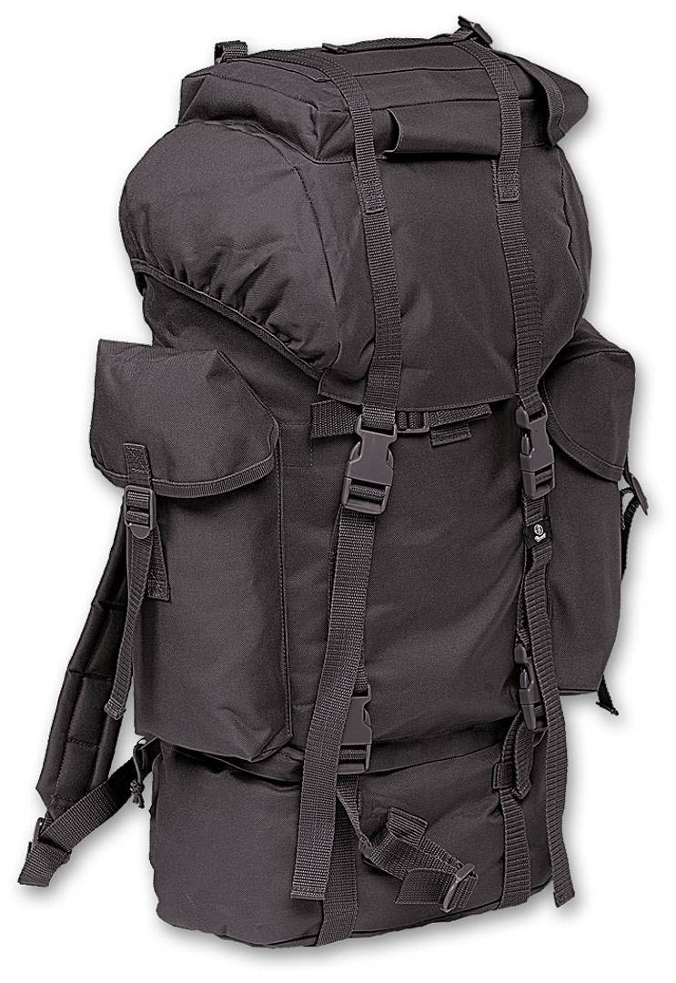Brandit Nylon Backpack Black One Size