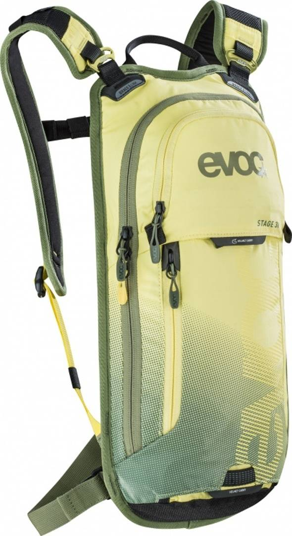 Evoc Stage 3L Backpack Green Yellow One Size