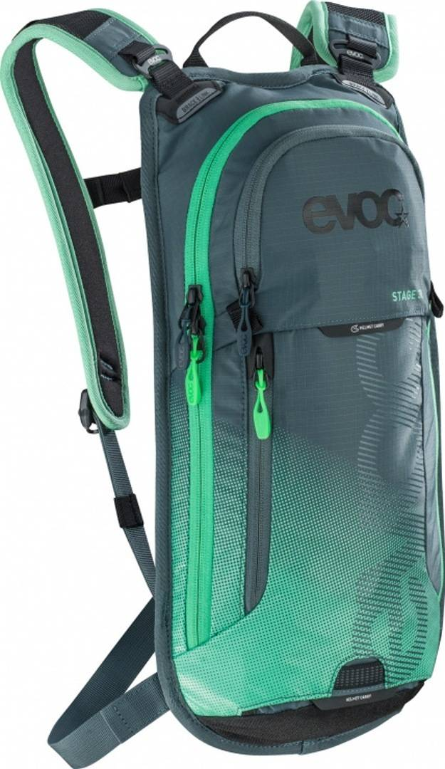 Evoc Stage 3L Backpack Grey Green One Size