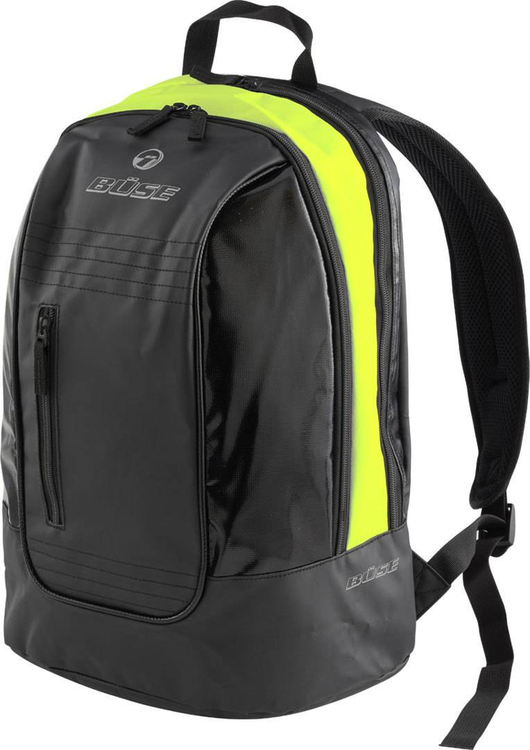 Büse Town Backpack Black Yellow One Size