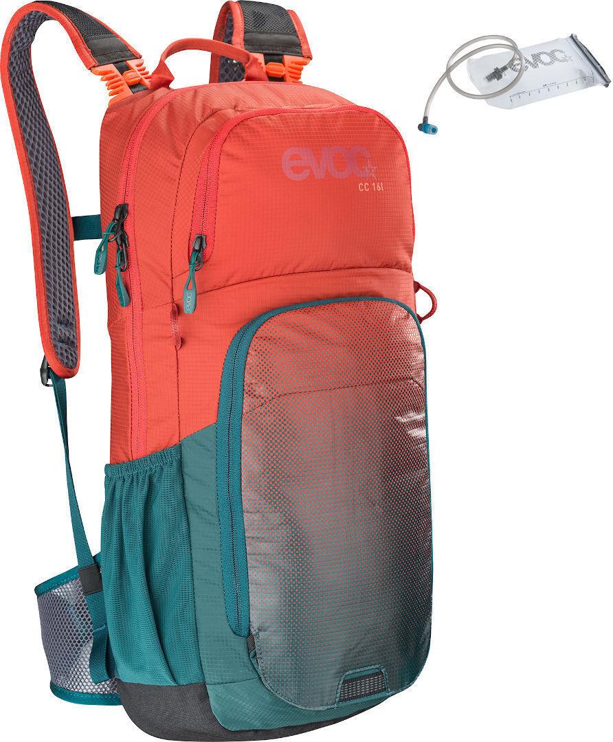 Evoc CC 16L Backpack + 2L Hydration Bladder Red Blue One Size