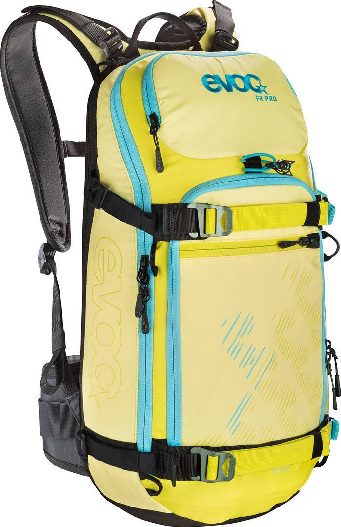 Evoc FR Pro Women 20L Protector Backpack Yellow M L