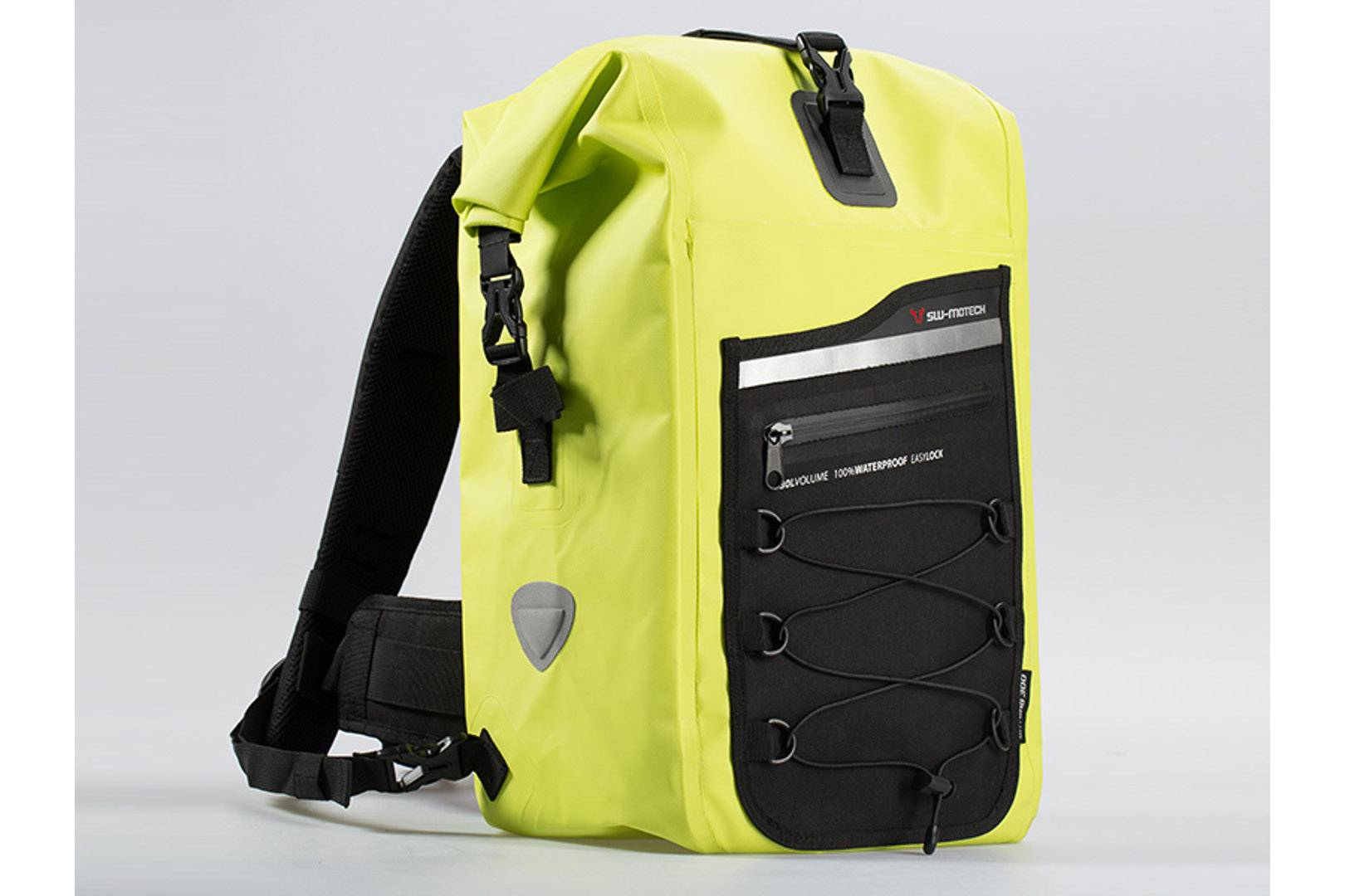SW-Motech Drybag 300 backpack - 30 l. Signal yellow. Waterproof.