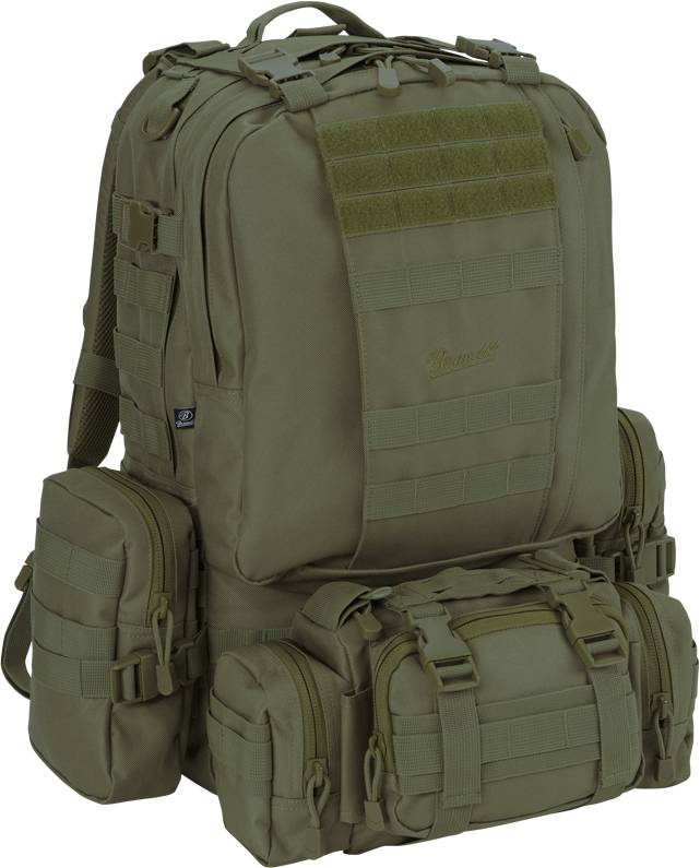 Brandit US Cooper Modular Pack Backpack Green One Size