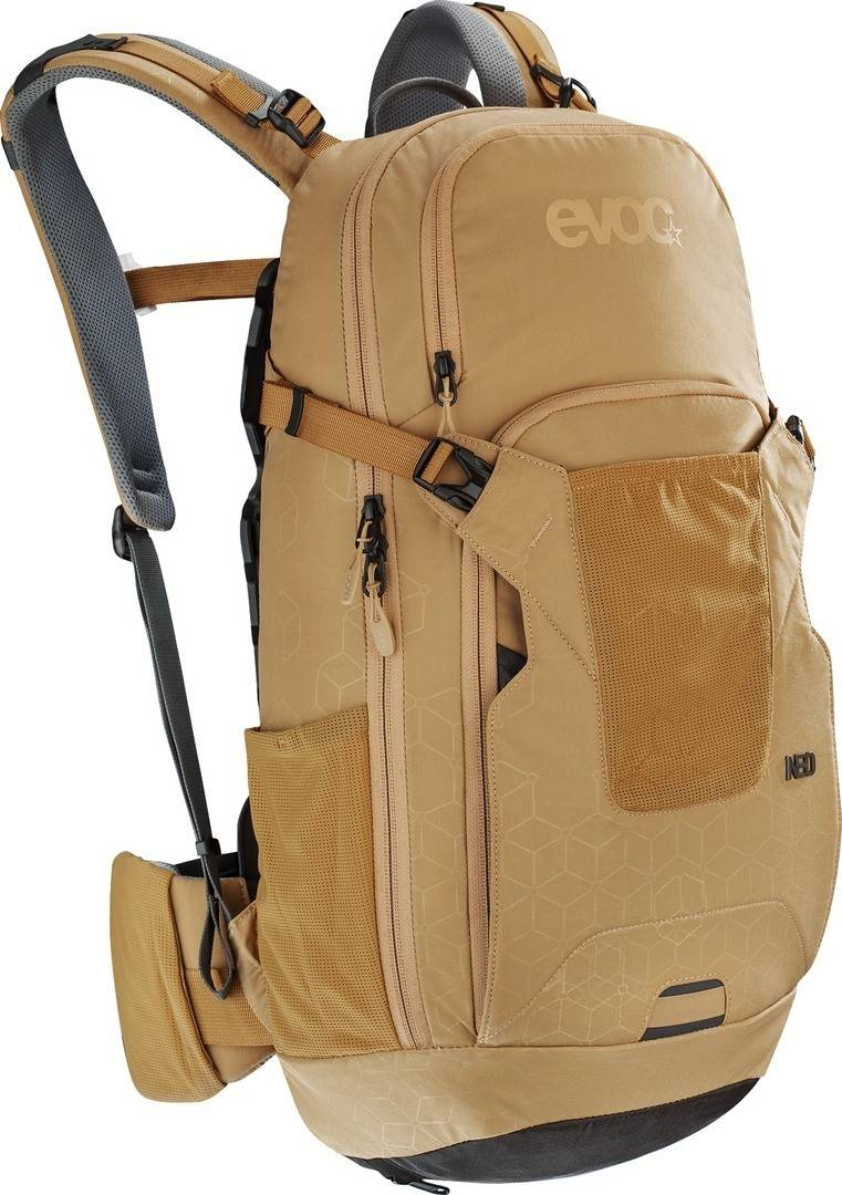 Evoc Neo 16L Protector Backpack Brown S M