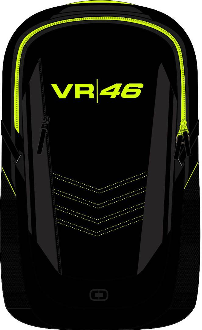 VR46 Ogio Corporate Race Day Limited Edition Backpack Black Yellow 11-20l