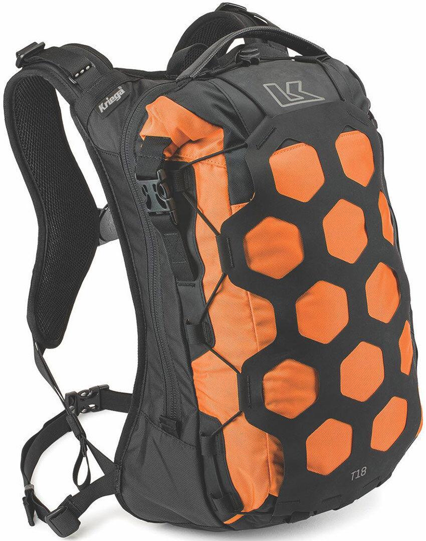Kriega Trail 18 Motorcycle Backpack Orange One Size