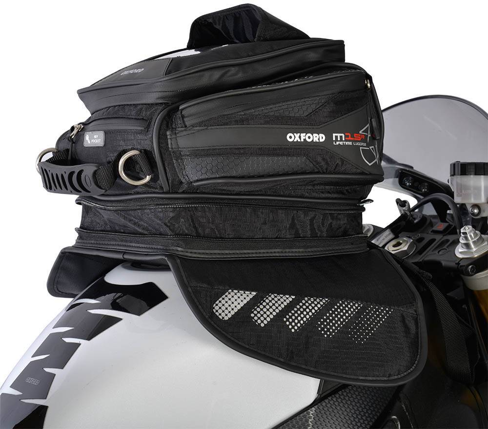 Oxford M15R Tank Bag Magnetic  - Size: One Size