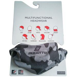 Bogotto Multifunctional Headwear Black Grey