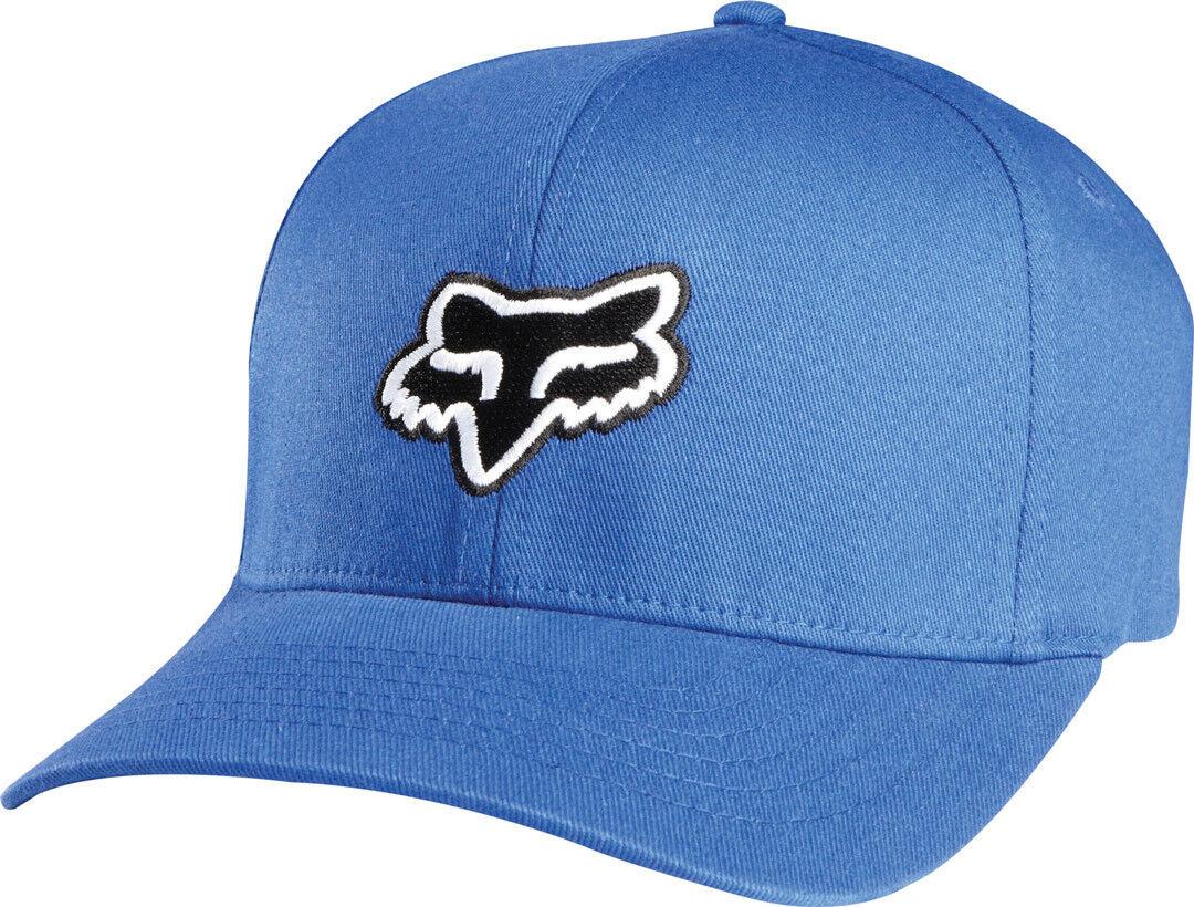FOX Legacy Flexfit Cap White Blue 2XL
