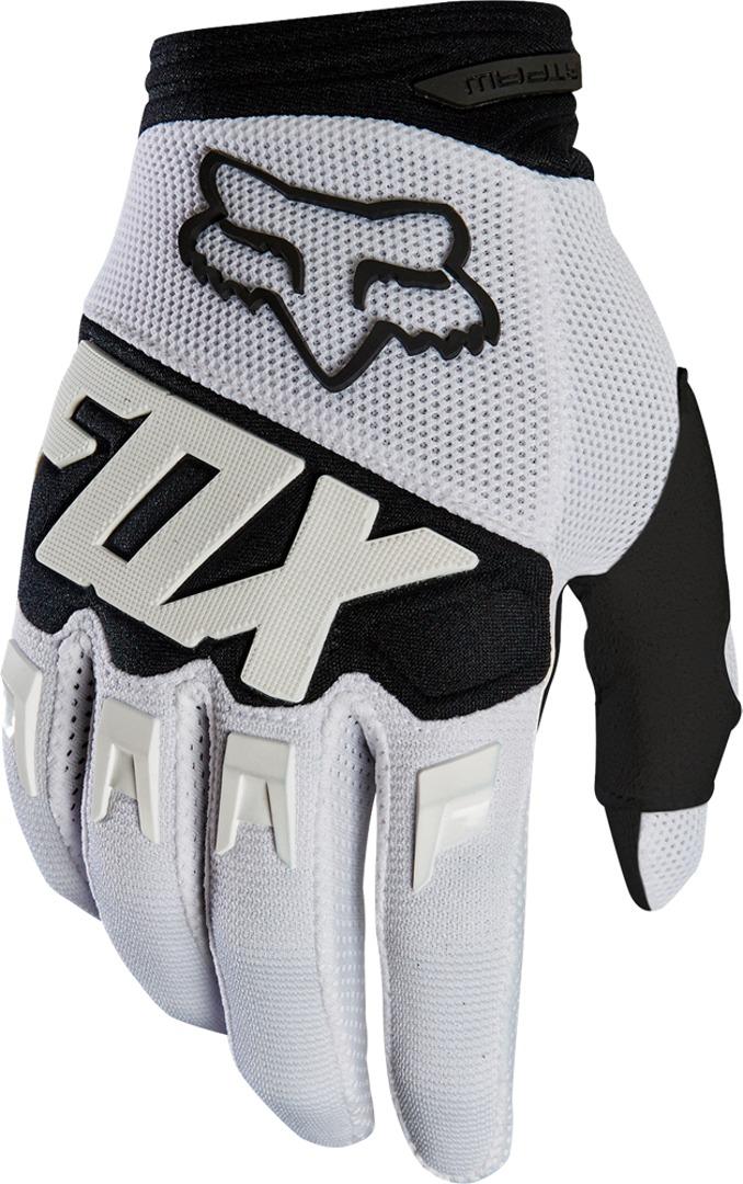 FOX Dirtpaw Race Motocross Gloves White XL