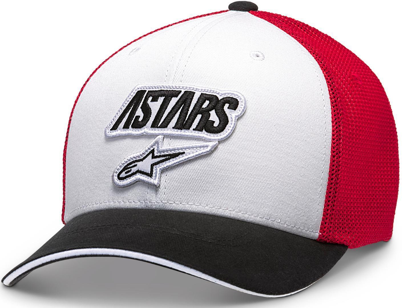 Alpinestars Race Angle Mesh Cap Black White Red S M