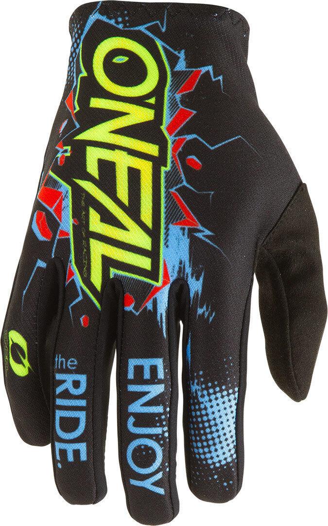 Oneal Matrix Villain 2 Motocross Gloves Black 2XL