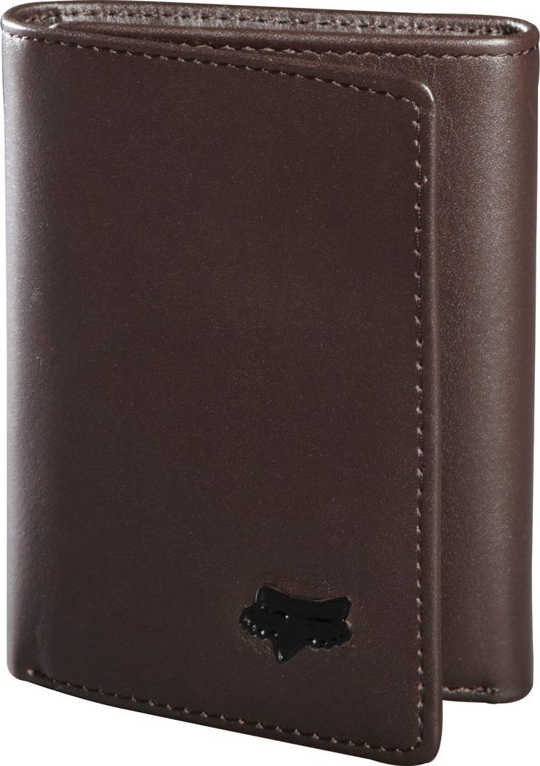 FOX Trifold Leather Wallet  - Size: One Size