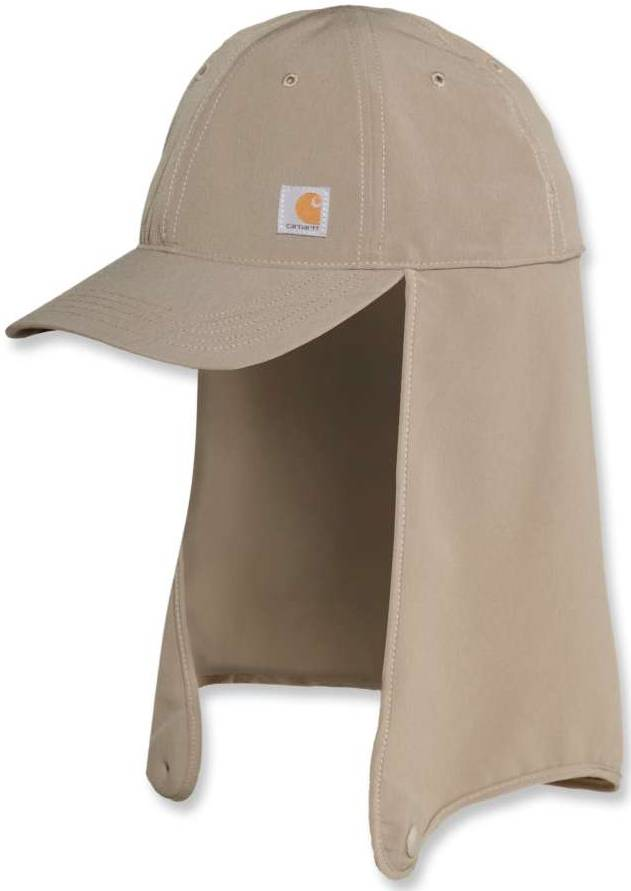 Carhartt Force Extremes Fishing Neck Shade Cap  - Size: Large