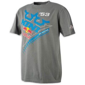 Kini Red Bull Ribbon T-Shirt Grey M