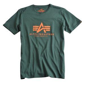 Alpha Industries Basic T-Shirt Green 3XL