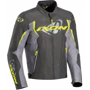 Ixon Cobra Motorcycle Textile Jacket Grey Yellow M