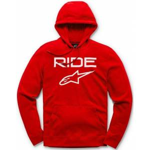 Alpinestars Ride 2.0 Fleece Pullover White Red L