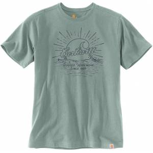 Carhartt Southern Water Graphic T-Shirt Blue L