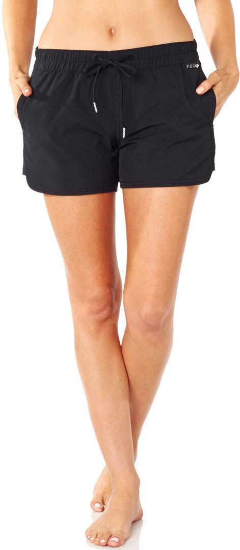 Fox Carving Ladies Shorts Black S