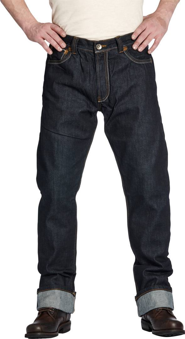 Rokker Iron Selvage Raw Jeans Blue 38
