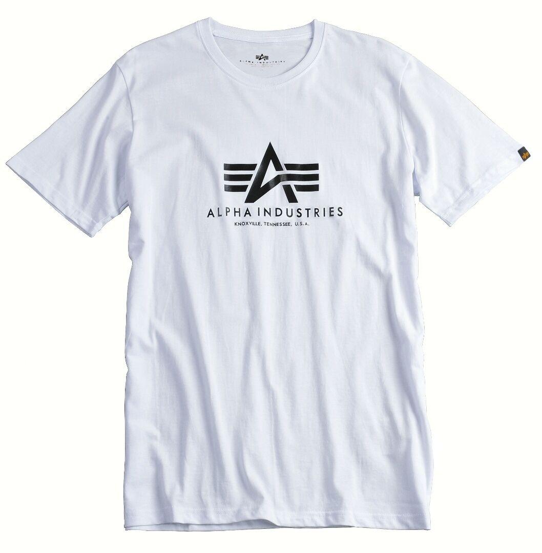 Alpha Industries Basic T-Shirt White 4XL